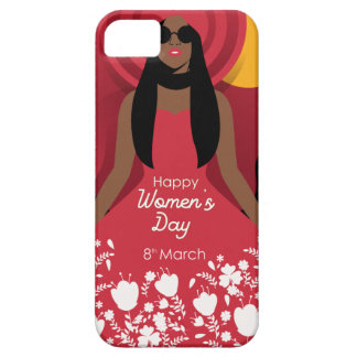 boho international womens day iPhone 5 case
