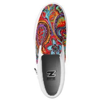 Boho Love Printed Shoes
