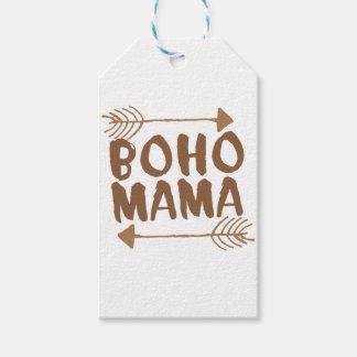 boho mama gift tags