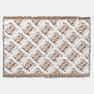 boho mama throw blanket