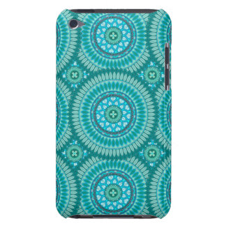 Boho mandala abstract pattern design barely there iPod case