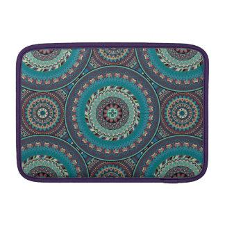 Boho mandala abstract pattern design MacBook air sleeves