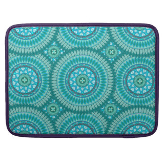 Boho mandala abstract pattern design MacBook pro sleeves
