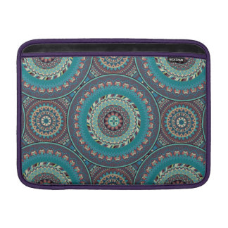 Boho mandala abstract pattern design MacBook sleeve