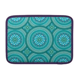 Boho mandala abstract pattern design MacBook sleeves