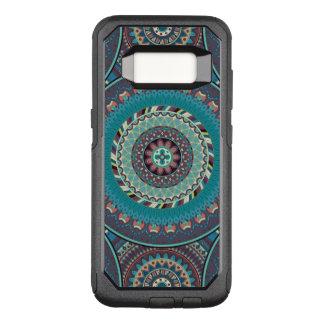 Boho mandala abstract pattern design OtterBox commuter samsung galaxy s8 case