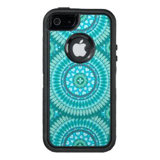 Boho mandala abstract pattern design OtterBox defender iPhone case