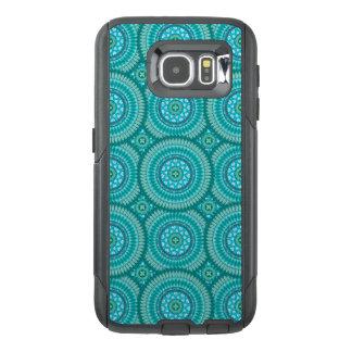 Boho mandala abstract pattern design OtterBox samsung galaxy s6 case