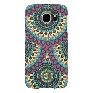 Boho mandala abstract pattern design samsung galaxy s6 cases