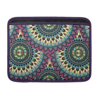 Boho mandala abstract pattern design sleeve for MacBook air