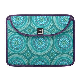 Boho mandala abstract pattern design sleeve for MacBook pro