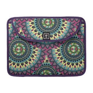 Boho mandala abstract pattern design sleeve for MacBooks