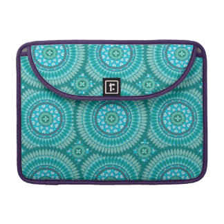 Boho mandala abstract pattern design sleeves for MacBook pro