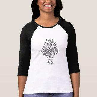 Boho Mandela Elephant T-Shirt
