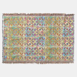 Boho Moroccan Style Throw