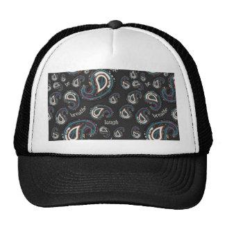 Boho Paisley and Word Art Cap
