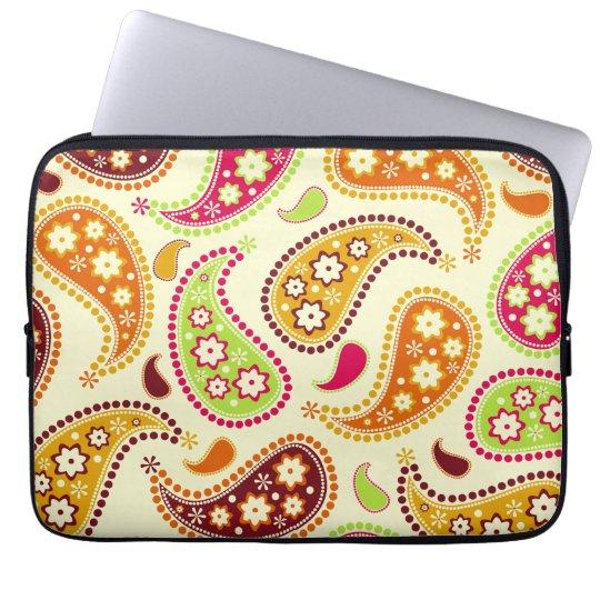 Boho Paisley Electronics Bag