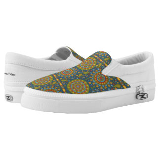 Boho Pattern 1 ~ Slip On Sneakers