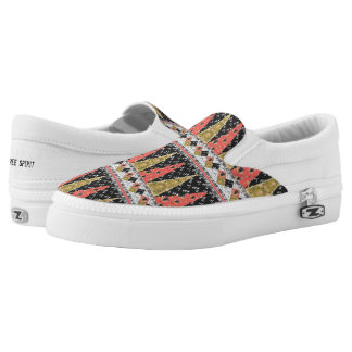 Boho Pattern 2 ~ Slip On Sneakers