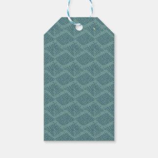 Boho Rustic Turquoise Geometric Gift Tags