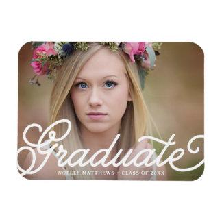 Boho Script Graduation Magnet