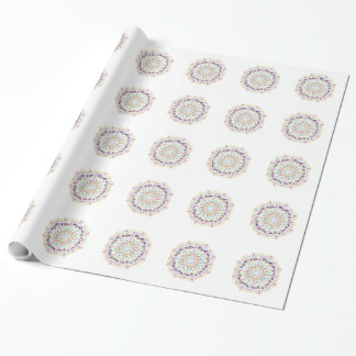 Boho Style Wrapping Paper