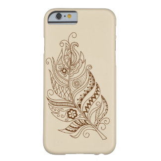 boho to feather barely there iPhone 6 case