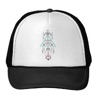 Boho Totem, Ethnic Symbol, Hippie, Aztec, Tribal Cap