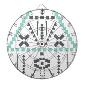 Boho Totem, Ethnic Symbol, Hippie, Aztec, Tribal Dartboard