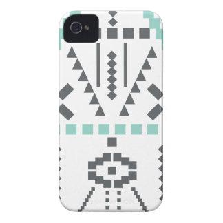 Boho Totem, Ethnic Symbol, Hippie, Aztec, Tribal iPhone 4 Cases