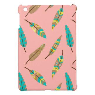 Boho Tribal Chic Feathers iPad Mini Case