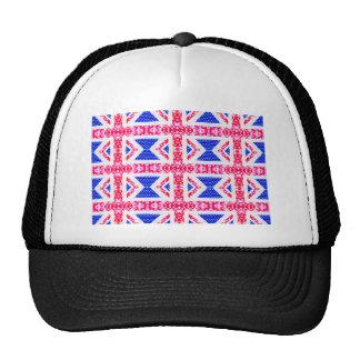 boho union jack cap