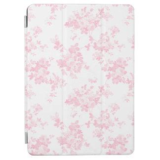 Boho vintage pastel pink elegant chic floral iPad air cover