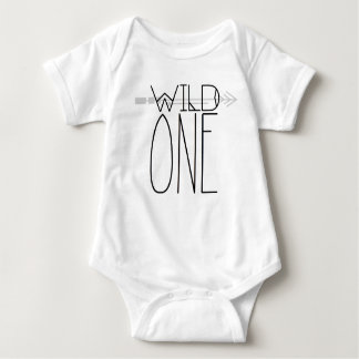 Boho Wild One | Tribal Arrow Baby Bodysuit