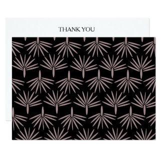 BoHo Wild Thank You Card