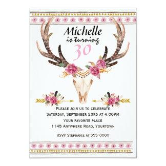 Boho Women's Southwestern Birthday Card