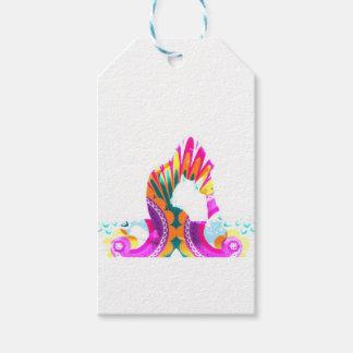 Boho Yoga King Pigeon Pose Series Gift Tags