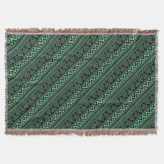 Boho ZigZag Throw Blanket