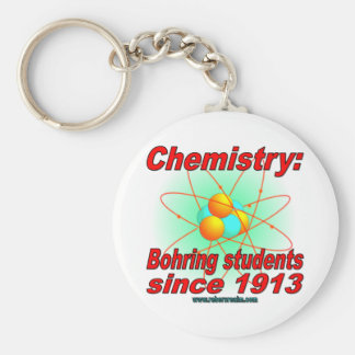 Bohr Atom Key Ring