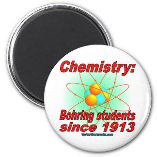 Bohr Atom 6 Cm Round Magnet