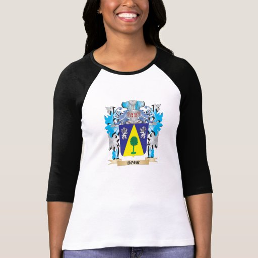 Bohr Coat of Arms Tee Shirts