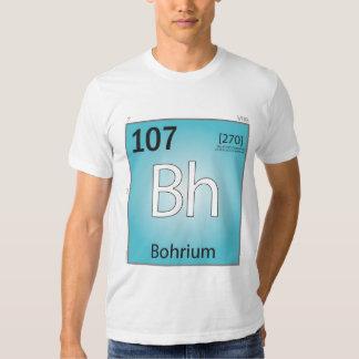 Bohrium (Bh) Element T-Shirt - Front Only