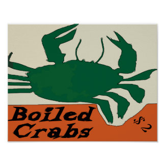Boied Crabs Sign