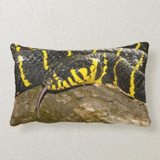 Boiga dendrophila or mangrove snake lumbar cushion