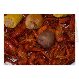 boiled crawfish card