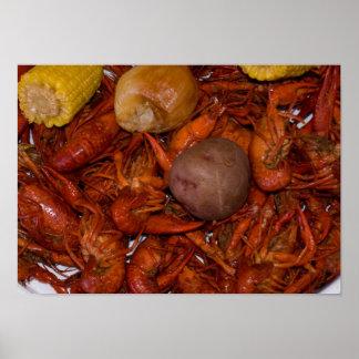 boiled crawfish poster