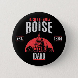 Boise 6 Cm Round Badge
