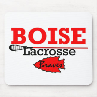 Boise High Girls Lacrosse Mouse Pad