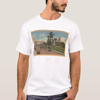 Boise, ID - View of Capital Park & Surrounding T-Shirt