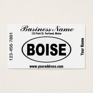 Boise Idaho Business Card